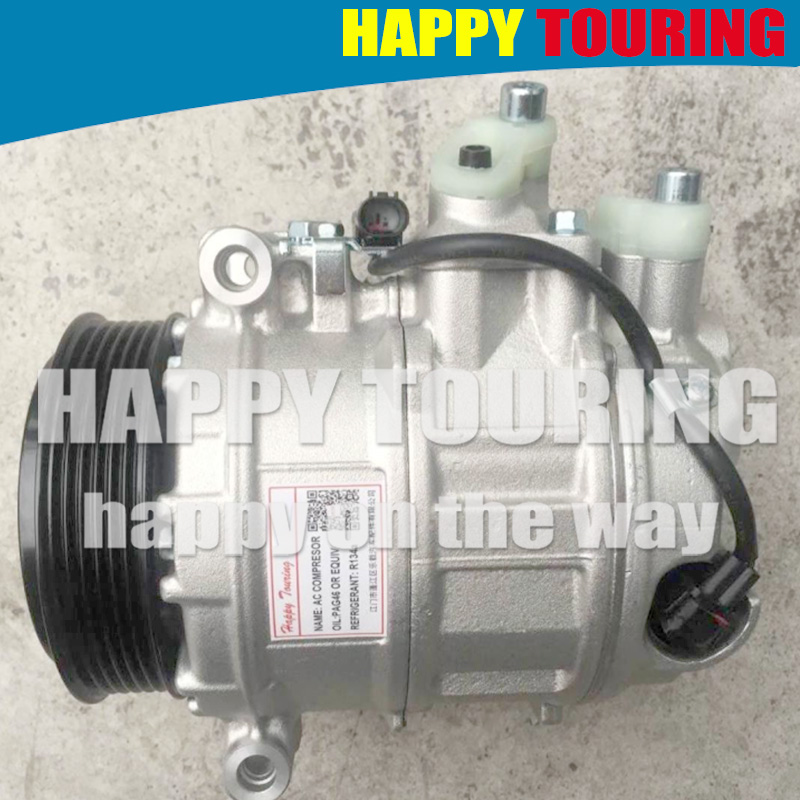 CAR AUTO AC Compressor for MERCEDES BENZ C-CLASS <font><b>W203</b></font> C180 C200 C240 C320 <font><b>C270</b></font> C220 C30 C280 C350 C230 CL203 S203 W204 S204 C204 image