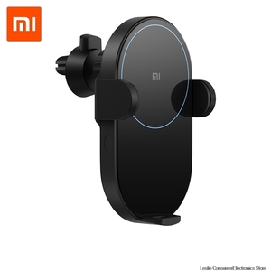 Xiaomi Mi 20W Max Qi Беспроводное Автомобильное зарядное устройство WCJ02ZM с интеллектуальным инфракрасным датчиком Быстрая зарядка Автомобильный д...