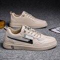 3301 летние дышащие трендовые доска обувь Взрыв стиль маленькие белые туфли