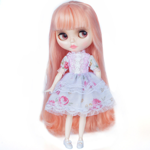 Image 2 - Blyth Doll Customized NBL Shiny Face,1/6 BJD Ball Jointed Doll Custom Blyth Dolls for Girl, Gift for Collection