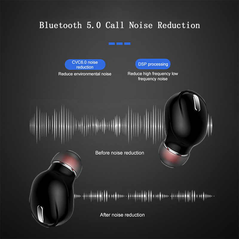 Mini X9 bežične bluetooth slušalice za slušalice sportske igraće - Prijenosni audio i video - Foto 4