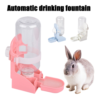 500ML Pet Feeding Dispenser For Rabbits- Dogs- Cats- Hamsters- Parrots 1