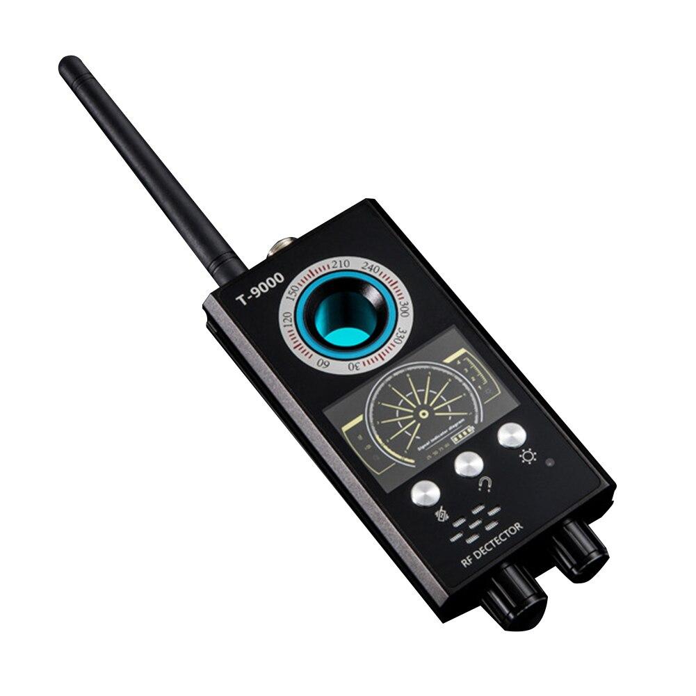 Détecteur de caméra GPS Rechargeable Portable avec sonde magnétique multifonction Audio détecteur de caméra RF Anti-espion Tracker automatique