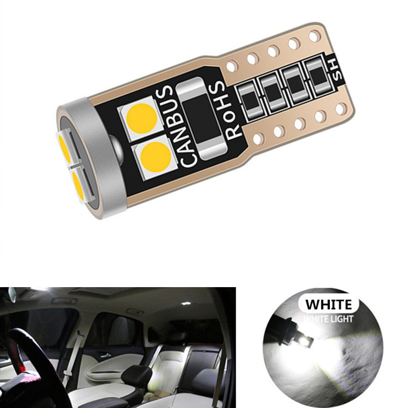 10x <font><b>LED</b></font> Canbus T10 W5W Car <font><b>LED</b></font> Light Bulb For Opel <font><b>Astra</b></font> H <font><b>J</b></font> G Corsa D C Insignia Vectra B Zafira Mokka 12V Auto Interior Lamp image