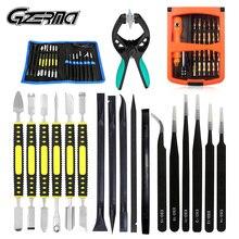 GZERMA Kit de destornilladores de apertura multifuncional 45 en 1, juego de herramientas de reparación de teléfonos móviles para iPhone 11X7 6s, Huawei P20 Lite P30