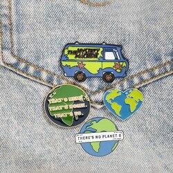 Зеленая земля, любовь, сердце, эмалевые булавки, экологический автомобиль, мультфильм, одежда, большая экология, булавка, рубашка, сумка, лац...