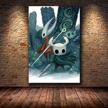 Постер игры «рыцарь полый» декоративная картина на hd холст