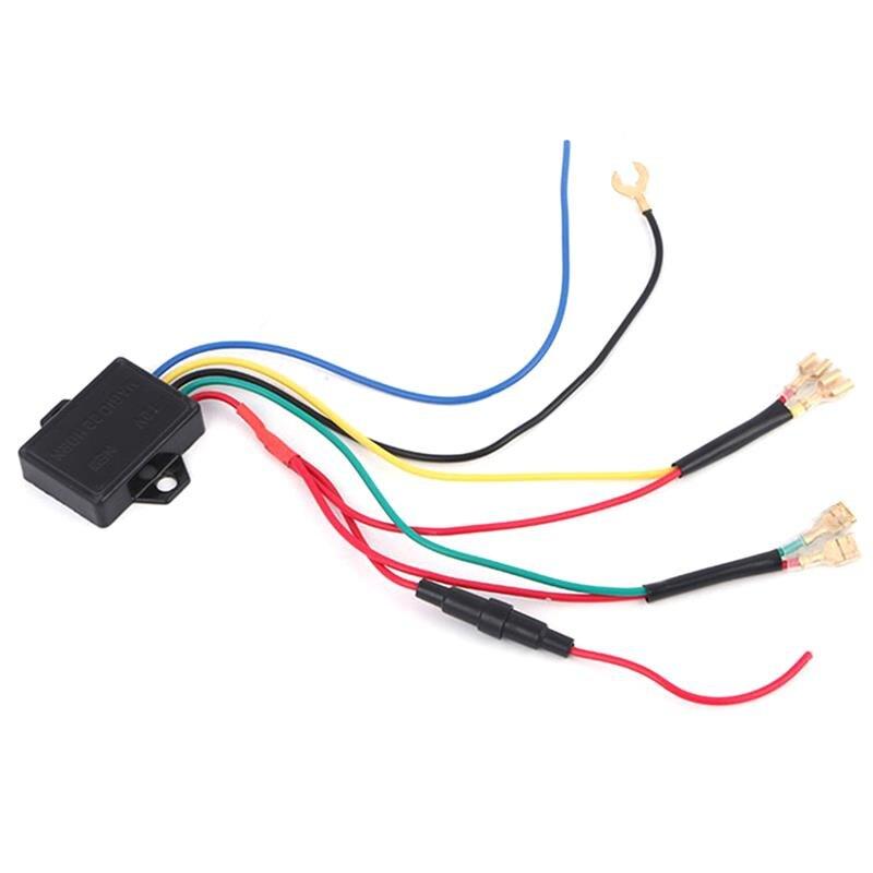 Универсальное реле звукового сигнала для автомобиля, грузовика, автомобиля, мотоцикла, водонепроницаемое реле, 4-контактный разъем для конд...