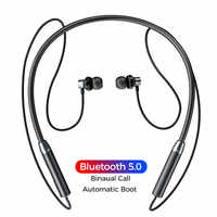 Doboss Auriculares inalámbricos Bluetooth, Auriculares deportivos, Auriculares estéreo HiFi para teléfonos Xiaomi, iPhone, Samsung