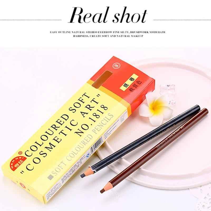 5 renk kaş artırıcı kaş kalemi gölgeler su geçirmez uzun ömürlü göz kaş göz astar boya makyaj araçları kozmetik TSLM1