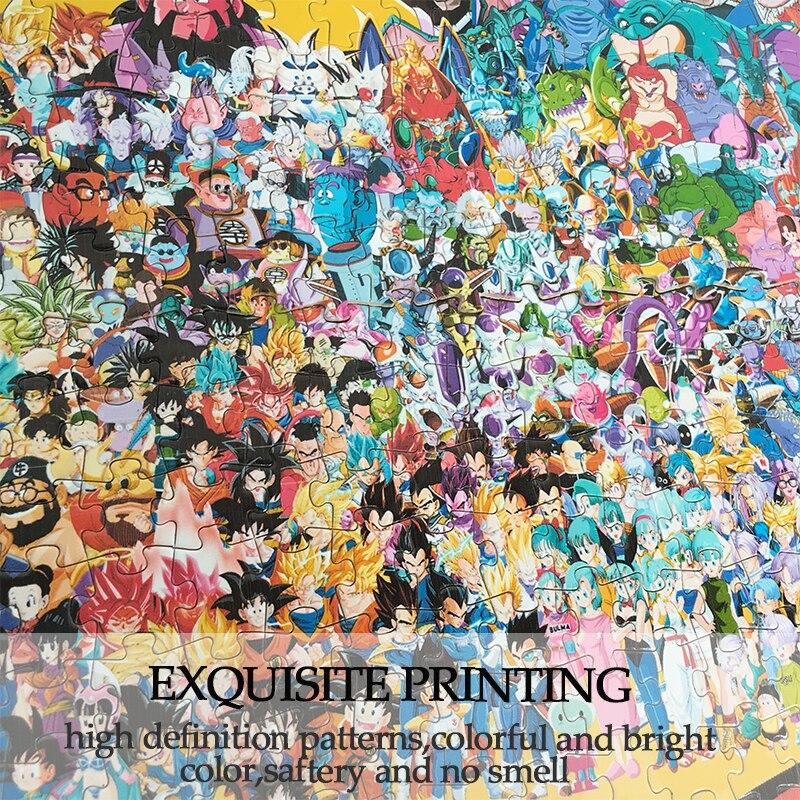MOMEMO Dragon Ball en bois Puzzle personnalisé adulte Puzzle en bois 1000 pièces Puzzle assemblage Puzzle jouet pour enfants - 3
