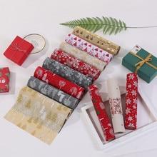 270 см Счастливого Рождества красная снежинка снеговик длинный стол флаг бегун ткань скатерти Современный домашний декор camino de mesa# YL1