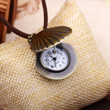 Lucky Shell Pocket Watch Clock Car Decoration personality retro electronic pocket watch Pendant car accessories interior gift car clock timepiece car decoration electronic meter auto interior ornament automobiles sticker watch interior in car accessories