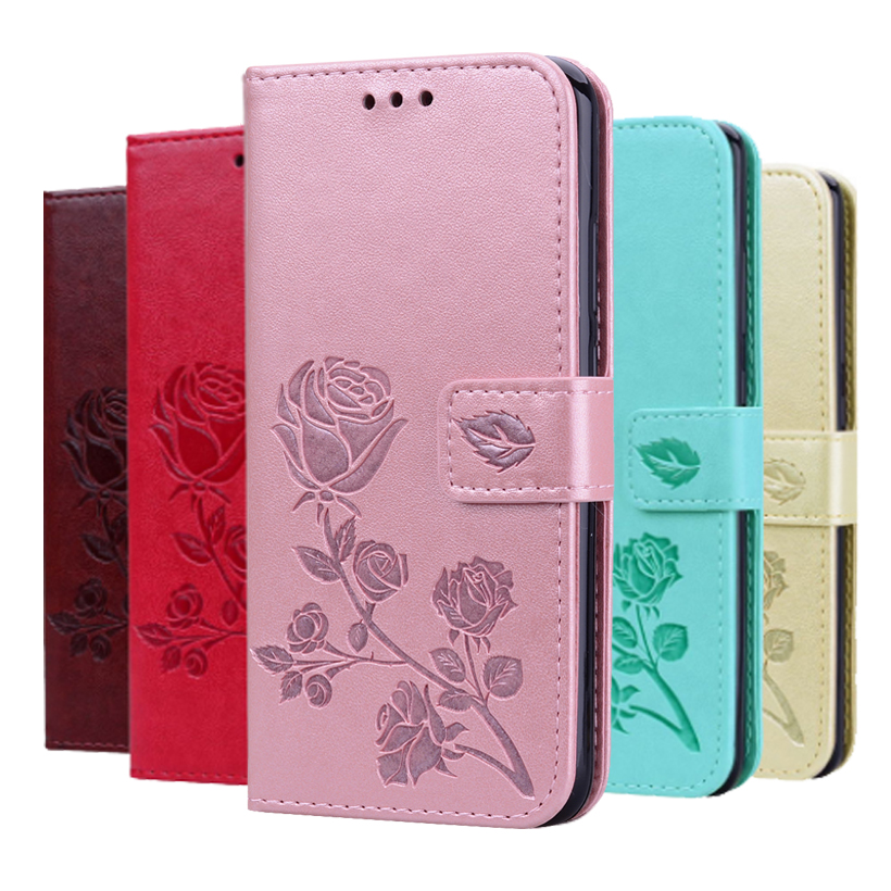 For ASUS ZenFone 4 Selfie ZB553KL Case Wallet Flip Cover PU Leather Wallet Phone Case For ASUS ZD553KL Book Case With Strap
