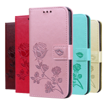 For Micromax Canvas Fire 5 Case Wallet Flip Cover PU Leather Wallet Phone Case For Micromax Canvas Fire 5 Book Case With Strap cheap Ahussha Wallet Case Wallet leather case Plain Floral Dirt-resistant Anti-knock With Card Pocket Heavy Duty Protection