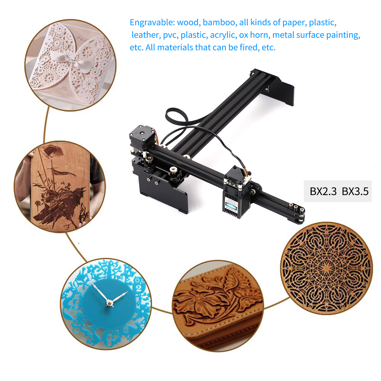 20W CNC Laser Engraver Laser Engraving Machine Mini Desktop Laser Engraver Printer Portable Household DIY Laser Engraving Cutter 5