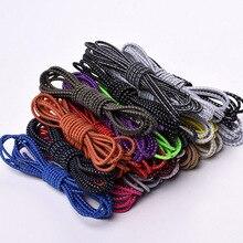 1 пара круглый стрейч-шнурки световой шнурки шнурки струны шнурки унисекс многоцветный 105см покроя кроссовки горячая