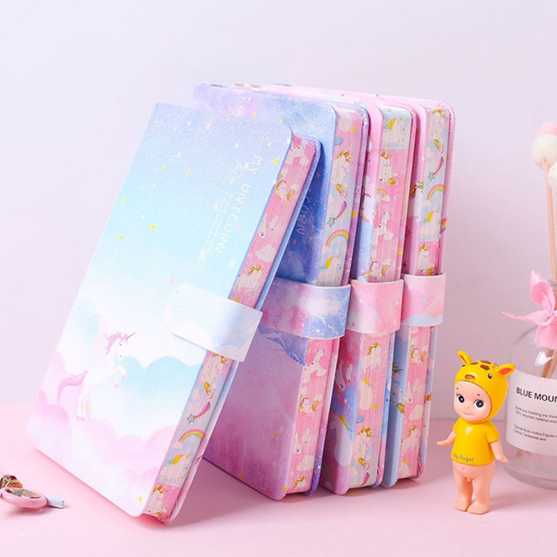 A5 Japanese Creative Stationery Gift For Girls Cute Colorful Pages Hardcover Diary Notebook Notepad