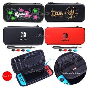 Image 5 - Портативная сумка для хранения Nintendoswitch Nintendos Nintendo Switch консоль EVA чехол для Nintendo _ Switch аксессуары