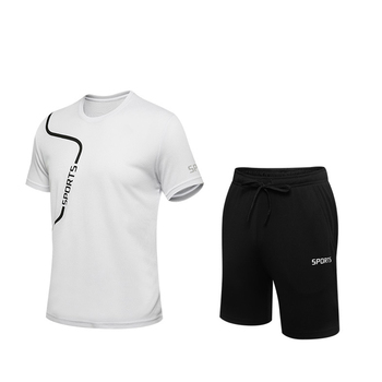 Aoliwen brand 2020 New men sport clothes Men tracksuit suit sportswear gym Quick Dry Running jogging football