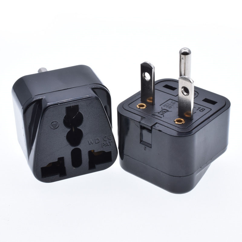 Новый универсальный Медь CE Kr AU UK ЕС США штекер Адаптер, р-р 6-15P 5-20P БРП розетка по UPS разъем 15A Мощность Зарядное устройство конвертировать Ште...