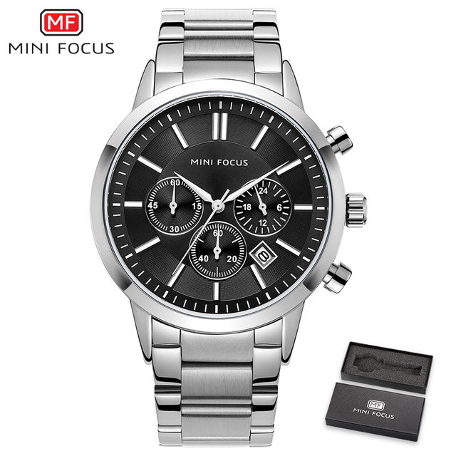 reloj hombre 2019 MINIFOCUS Top Brand Luxury Men Watches Ultra Thin Date Waterproof Quartz Clock Wrist Watch Male Casual Watch | Fotoflaco.net