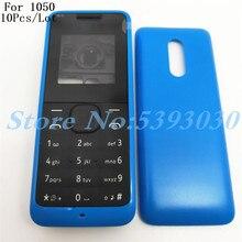 10 unids/lote nueva funda completa para teléfono móvil + teclado Enlish para Nokia 105 1050 RM1120 Rm908