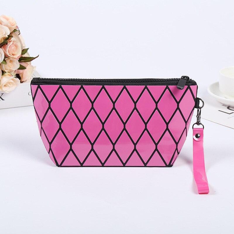 Женская косметичка мини набор косметики сумка для дам маленькая клатч ПВХ
