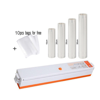 Electric Vacuum Sealer Packaging Machine for Home Kitchen Including 10pcs Food Saver Bags Commercial Vacuum Food Sealing electric food vacuum sealer packaging machine food saver for home kitchen vacuum sealer packer including 10pcs bags free