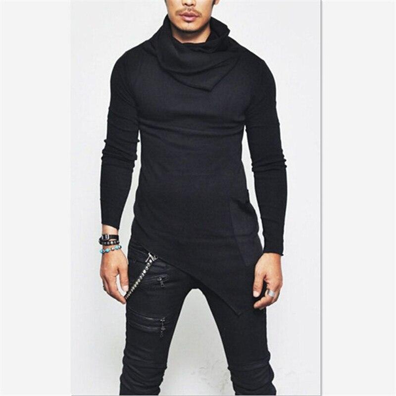 Unbalance Hem Pocket, толстовки с длинным рукавом, мужская спортивная одежда, баскетбольные майки, осенние мужские водолазки, толстовка, топы, 5XL