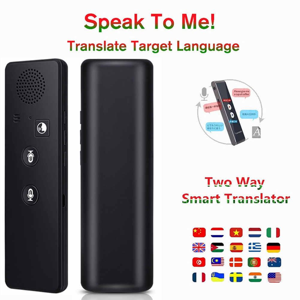 Tradutor inteligente Bluetooth Apoio 40 Línguas Tradutor Vocal Instantâneo Portátil SP99