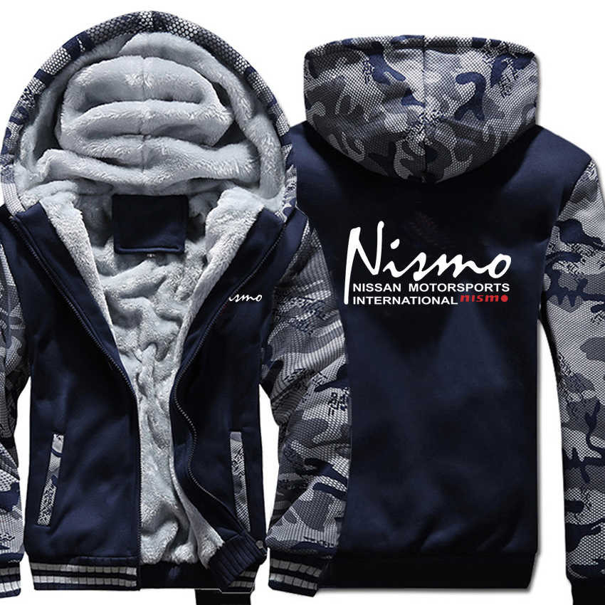 닛산 nismo 후드 위장 슬리브 자켓 hoody 지퍼 겨울 양털 닛산 nismo 운동복