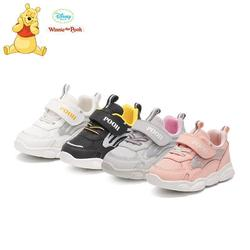 Original Disney Winnie The Pooh Children's Shoes Soft-soled Toddler Shoes For Boys And Girls Aged 1-3 Casual Shoes X0151