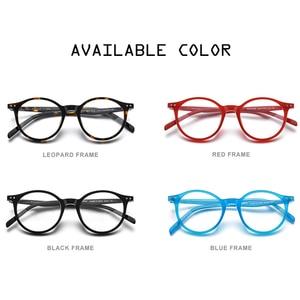 Image 5 - Hepidem Acetaat Optische Glazen Frame Vrouwen 2020 Vintage Ronde Brillen Mannen Bijziendheid Recept Nerd Bril Eyewear 9116