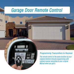 Image 4 - Alutech compatível at 4 AR 1 500 an motors asg1000 controle remoto 433.92 mhz rolamento código 4 canal abridor de porta de garagem
