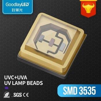 280nm deep uv leds 270 275nm UVC 3535 SMD LED Chip diode