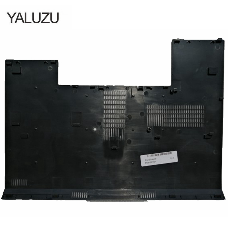 YALUZU New For HP EliteBook 8460P 8470P Laptop Case Back Cover Base Bottom Case Back Cover Door Black E COVER 42804-001 Hard