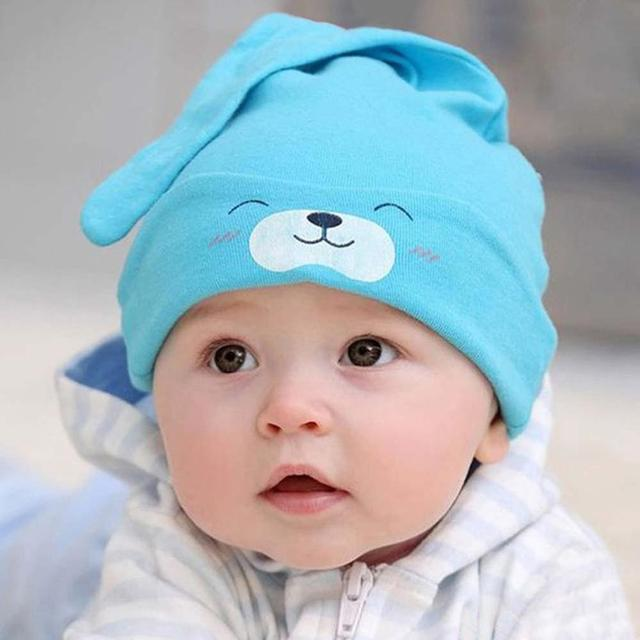 Smile Cute Sleeping Cotton Chapeau Knitted Hats Comfortable Accessories Cotton Baby For Newborn Infant Girls Hats Caps Aliexpress
