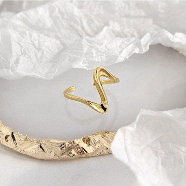 Bague femme doré