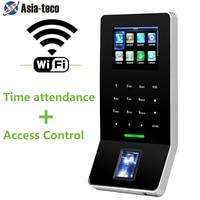 2.4 inch LCD Biometric WIFI Fingerprint Access Control Time Attendance System TCP/IP RJ45 F28 Fingerprint Reader ZK F22