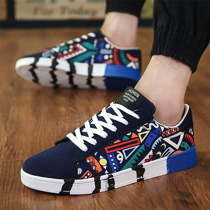 Men Shoes Casual Flat Shoes Autumn Winter Lace-up Low Top Male Sneakers Tenis Masculino Adulto Student Shoe Zapatos De Hombre