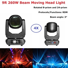4Pcs Sharpy Lyre Beam 260W 9R Moving Head Light 230W For Stage Theater Disco Nightclub Party lightshow