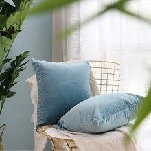 Наволочки junbie наволочки для диванных подушек 45x45 мягкие