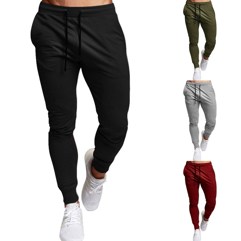 New Joggers Men Summer Autumn Brand Gyms Sweatpants Men's Joggers Trousers Sporting Clothing The High Quality Bodybuilding Pants