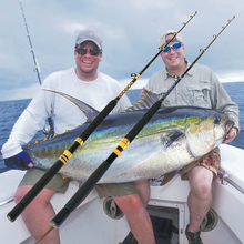 15-30LB 5+ 1 направляющий светильник соленое удилище для ловли на блесну лодка рыбалка 1,8 м FRP Двойные наконечники большая игровая Удочка морская Удочка троллинг