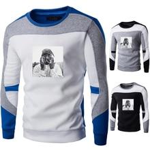 ZOGAA 2020 весна осень Мужские свитера парни хлопок хип-хоп лоскутное шить свитера мужской свободного покроя теплый свитер мужчин