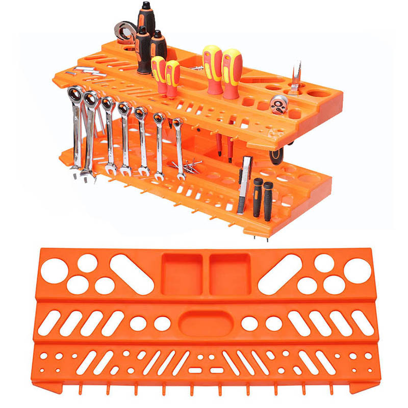 Hardware Tools Hanging Board Tool Box Screw Wrench Classification Component Parts Box Storage Box Garage Workshop Storage Rack