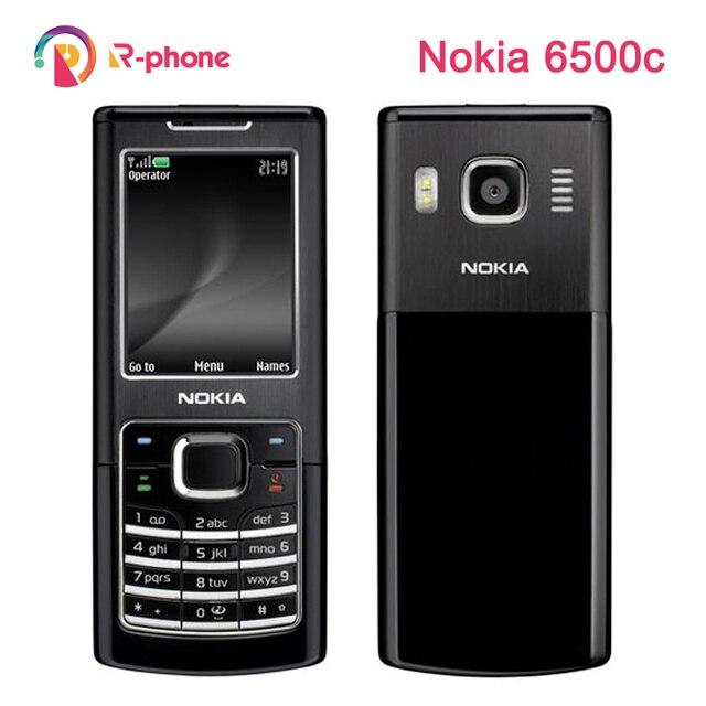 Original Nokia 6500c Mobile Phone 3G Unlocked 6500 Classic Phone Refurbished
