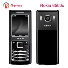 Original Nokia 6500c Telefone Móvel 3G Desbloqueado 6500 Classic Telefone Remodelado