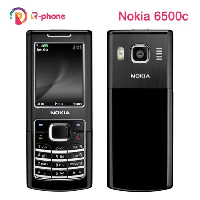 Originale Per Nokia 6500c Telefono Cellulare 3G Sbloccato 6500 Telefono Cellulare Classico Telefono Rinnovato